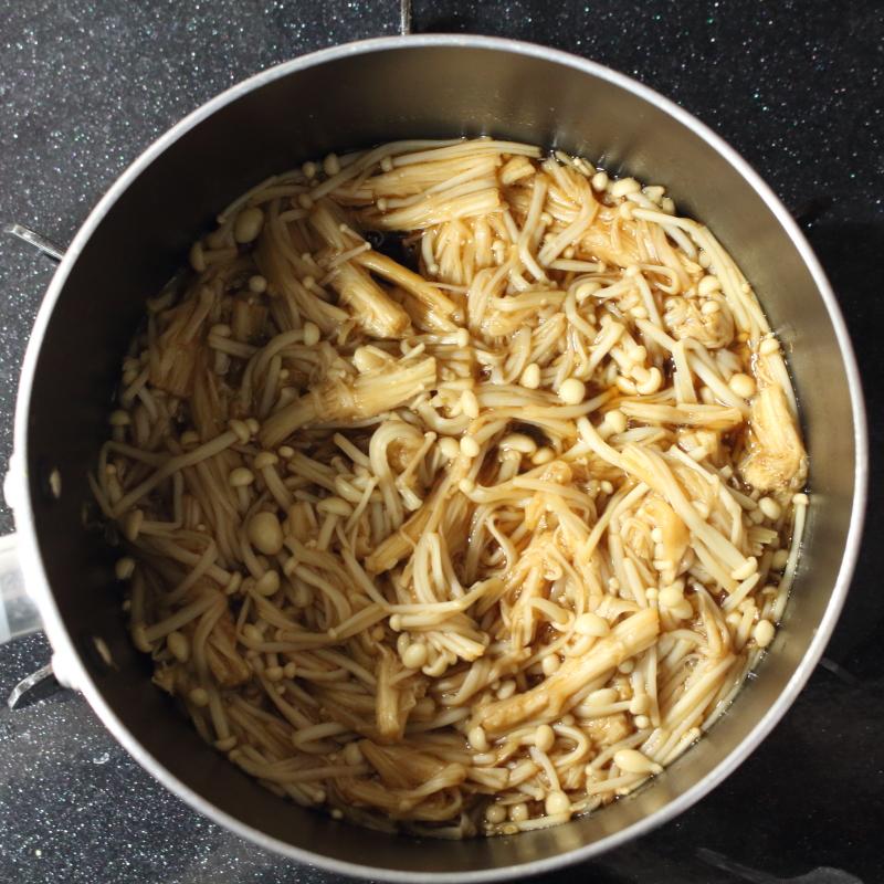 エノキ なめ茸 作り方2