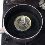 缶詰 湯煎